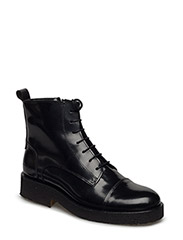 Booties - flat - 1400 BLACK