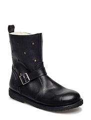 Boots - flat - 2504/2109 BLACK/CHAMPAGNE