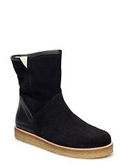 Boots - flat - 1163/1604 BLACK