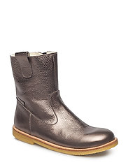 Boots - flat - 1541/2613 BRONZE/GREYBROWN