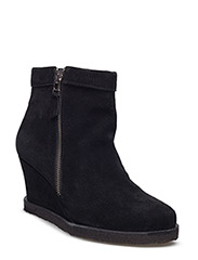 Boots - wedge - 1163 BLACK