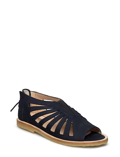 Sandals With Holes, Elastic And Zipper