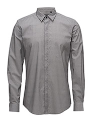 SHIRT SLIM WITH HIDDEN BUTTONING - WHITE