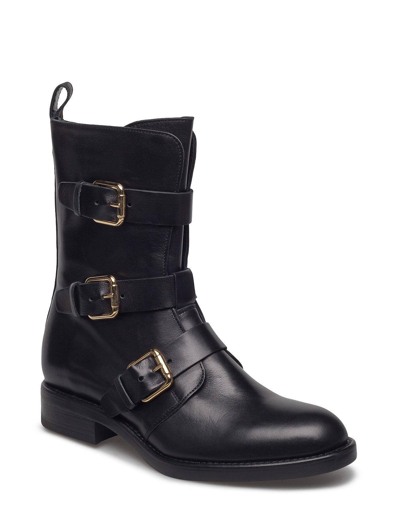 7831b Apair Støvler til Damer i Nero
