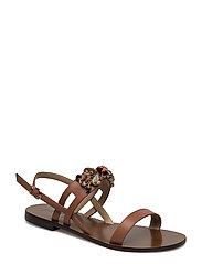 Plain sandal swarowski - MARONNE