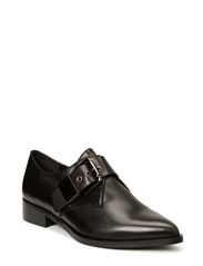 Flat pointed buckle - Black
