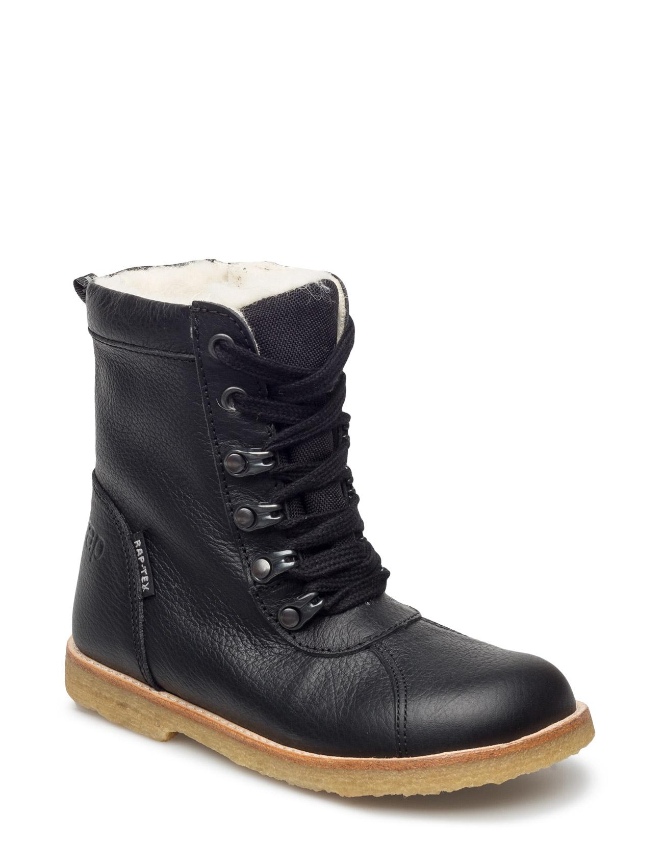 c6cf11cfecf1 Find Ecological Water Proof Low Boot Arauto RAP Støvler i Sort til Børn fra  Boozt