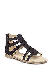 ECOLOGICAL HAND MADE Open Sandal - 04-NOB.BLACK