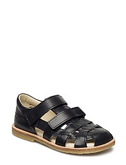 ECOLOGICAL CLOSED SANDAL, FOR EXTRA WIDE FEETS - 09-ECO BLACK