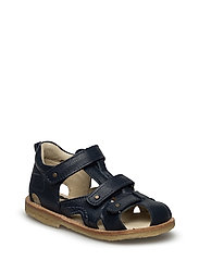 ECOLOGICAL CLOSED SANDAL, NARROW FIT - 21-NAVY