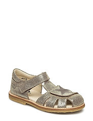 ECOLOGICAL CLOSED SANDAL, NARROW FIT - 10-GOLD FANTASY