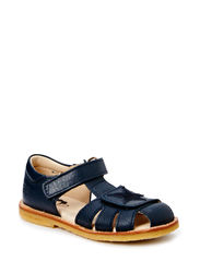 ECOLOGICAL CLOSED SANDAL, NARROW FIT - NAVY