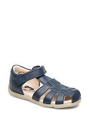 ECOLOGICAL HAND MADE Closed Sandal, Narrow fit - NAVY