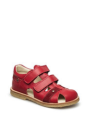 ECOLOGICAL HAND MADE Closed Sandal - 03-RED