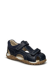 ECOLOGICAL HAND MADE Closed Sandal, Wide fit - 01-NAVY