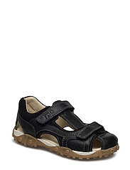 ECOLOGICAL HAND MADE Closed Sandal, Wide fit - 04-BLACK