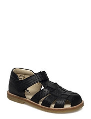 ECOLOGICAL CLOSED SANDAL - 44-SPIDER BLACK