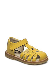 ECOLOGICAL HAND MADE Closed Sandal - 01-PAT YELLOW