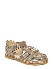ECOLOGICAL HAND MADE Closed Sandal - 05-GOLD FANTASY