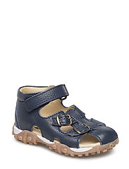 ECOLOGICAL HAND MADE Closed Sandal - 01-FLOAT. NAVY