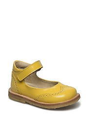 ECOLOGICAL HAND MADE Shoe - 02-PAT YELLOW