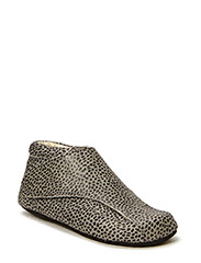 ECOLOGICAL HAND MADE Sleeper boot - LEOPARD GREY