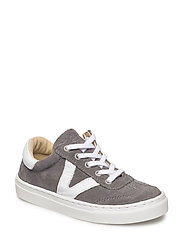 ECOLOGICAL HAND MADE Sneaker - 02-SUED. GREY