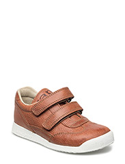 ECOLOGICAL SNEAKER, EXTRA WIDE FIT - 44-COGNAC