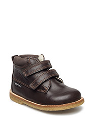 Tex Boot with velcro - 20-BROWN