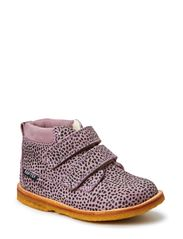 Tex Boot with velcro - LEOPARD LILAC