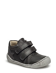 ECOLOGICAL LOW BOOT, SOFT LEATHER, MEDIUM FIT - 17-GREY