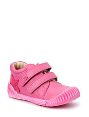 ECOLOGICAL LOW BOOT, SOFT LEATHER, MEDIUM FIT - PINK