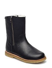 ECOLOGICAL HAND MADE Water proof Low Boot - 01-BLACK