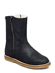 ECOLOGICAL HAND MADE Water proof Low Boot - 09-BLACK FANTASY