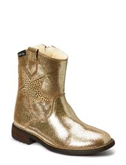 Fashion Tex boot with zip - GOLD FANTASY