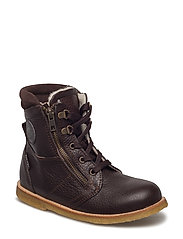 ECOLOGICAL HAND MADE Water proof Low Boot - 02-DARK BROWN