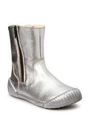 Water proof Tex Boot with Zip - SILVER