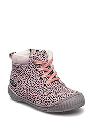 Tex Boot with Zip - 08-LEOPARD LILLAC