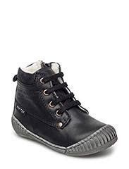 Tex Boot with Zip - 09-BLACK