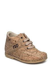 ECOLOGICAL HAND MADE Low Boot - 10-NATURAL CORK