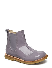 ECOLOGICAL HAND MADE Water proof Boot - 40-PAT LAVENDER