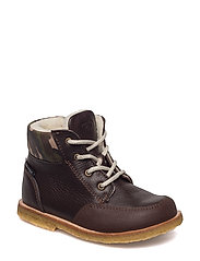 ECOLOGICAL HAND MADE Water proof Boot - 03-BROWN