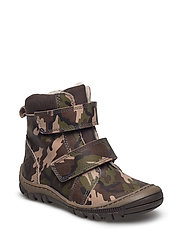 ECOLOGICAL HAND MADE Water proof Boot - 13-ARMY