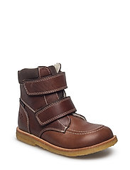 ECOLOGICAL HAND MADE Water proof Low Boot - 08-DK. BROWN