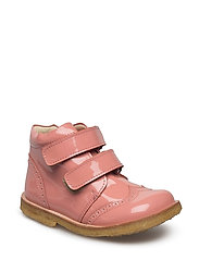 ECOLOGICAL HAND MADE Low Boot - 01-PAT. PINK