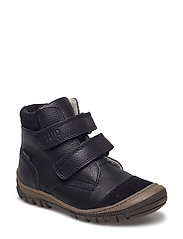 ECOLOGICAL HAND MADE Water proof Low Boot - 02-BLACK
