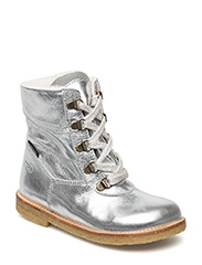 Tex Boot with Zip - 09-SILVER
