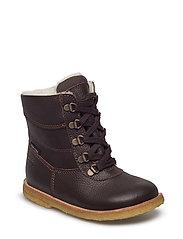 Tex Boot with Zip - 14-D.BROWN