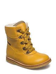 Tex Boot with Zip - 23-YELLOW