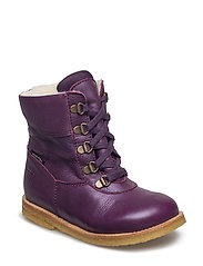 Tex Boot with Zip - 24-GRAPEWINE